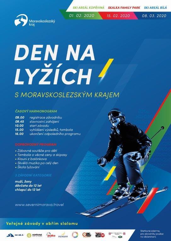 Den na lyžích s Moravskoslezským krajem